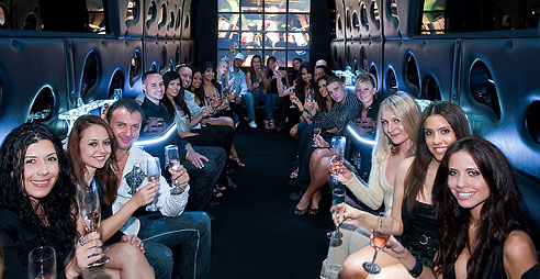 rental party bus miami